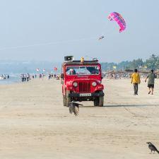 What happens on a Goa Beach ?