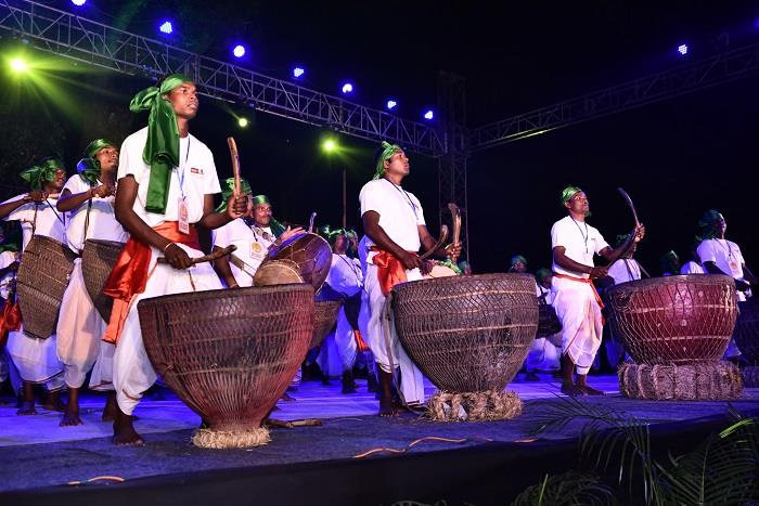 Santhal and Ho tribes at Samvaad Tribal conclave