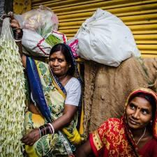Bansphatak Flower Market Varanasi