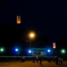 Kite & Fanush Flying on Sakranti