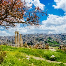 April 2016 Calendar Download Desktop Wallpaper - Amman Citadel
