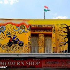Shankar Market Street Art Project - Connaught Place New Delhi
