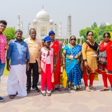 A Visit To Taj Mahal Agra With 200 desi Travelers