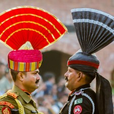 Wagah Border Ceremony Where Emotions Run High