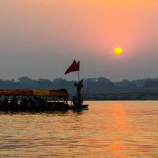 desi goes for  Varanasi Sunrise Boat Ride