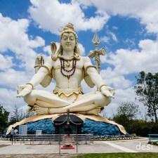 85 Feet Tall Shiva Idol in Bijapur Karnataka