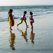 The Kids Who Stole My Heart On A Goa Beach