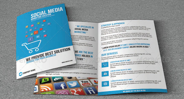 Social media analyst resume sample, twitter job search guide, social - marketing brochure