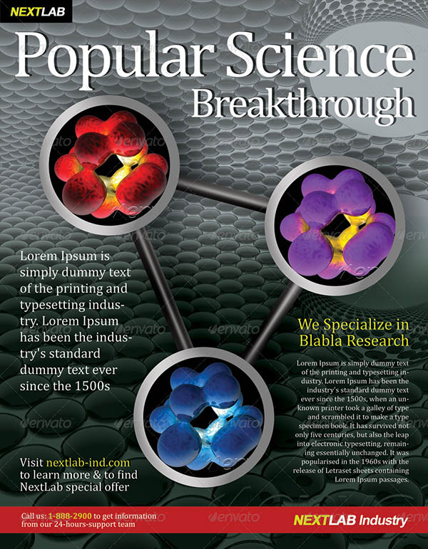 28 Great Science Magazine Templates \u2013 Desiznworld
