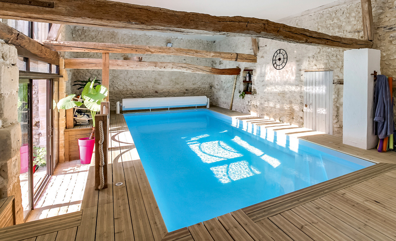 Indoor Pool Bauen Indoor Pools Pool Im Haus Desjoyaux Pools