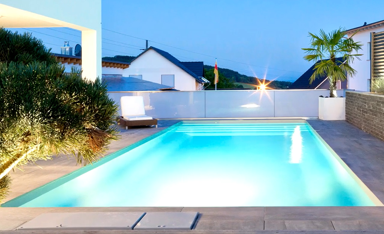 Ein Pool Gartenpool Outdoor Pools Desjoyaux Pools