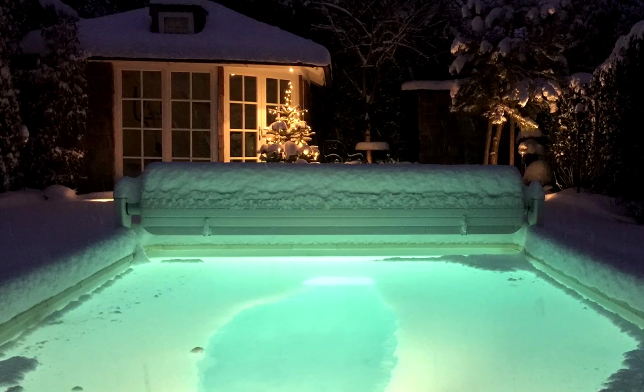 Pool Garten Winter Gartenpool Outdoor Pools Desjoyaux Pools