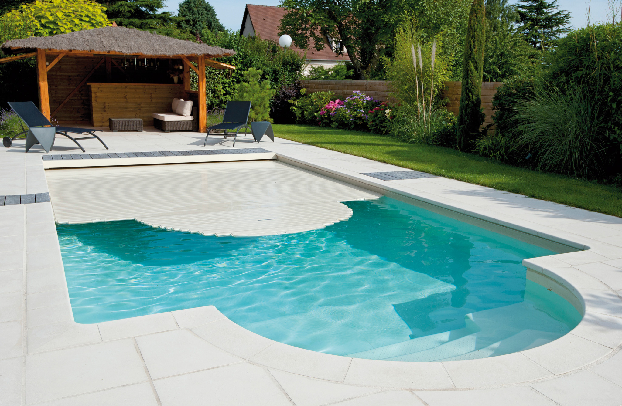 Pool Abdeckung Folie Poolabdeckung Desjoyaux Pools