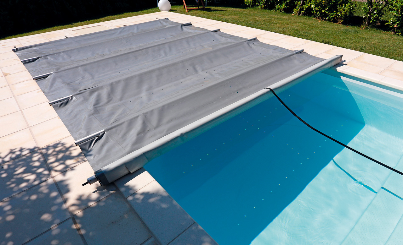Pool Abdeckplane Rund Winter Planen Poolabdeckung Mit Stangen Desjoyaux Pools