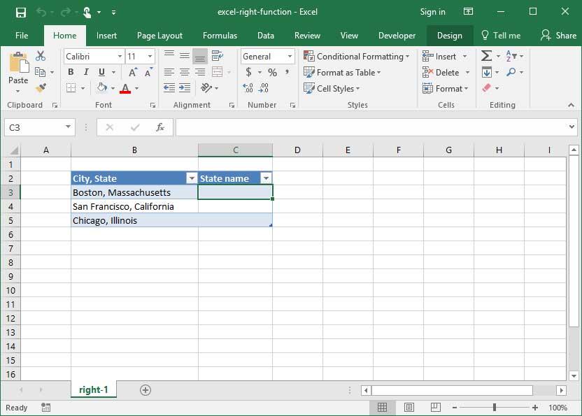 Using Excel\u0027s RIGHT Function Deskbright
