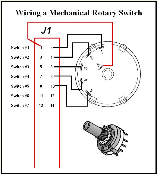 Rotary 4 Pole Wiring Diagram Electronic Schematics collections