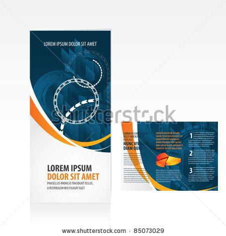 stock-vector-tri-fold-business-brochure-template-85073029 - Custom - tri fold business brochure