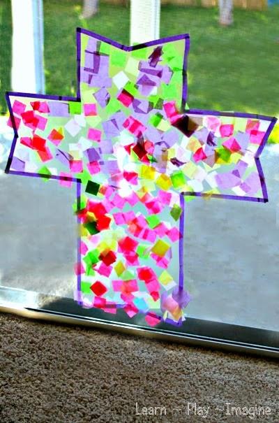 easter cross craft for kids