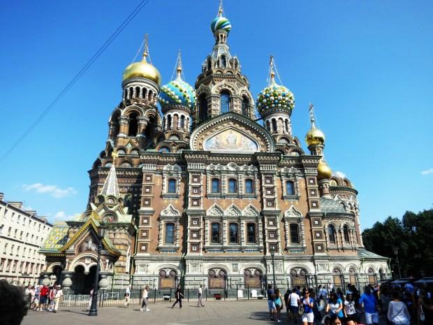 Igreja do Sangue Derramado em São Petersburgo