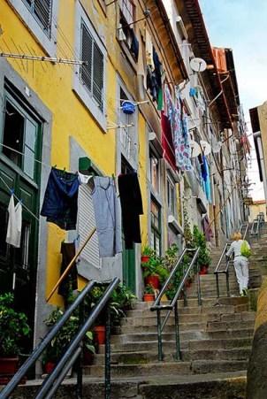 Escada dos Guindais Porto Portugal