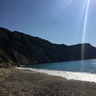 Petani Beach Kefalonia Grecia