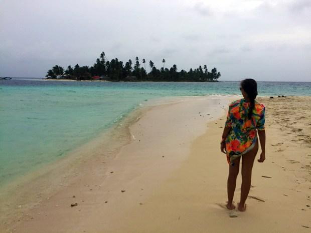 Isla Perro em San Blas no Panamá