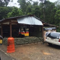 Fronteira Isla Perro em San Blas no Panamá