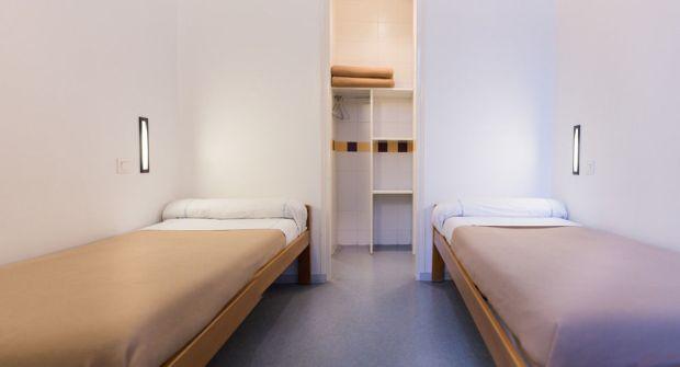 quarto Hostel albergue da juventude no bairro marais em Paris