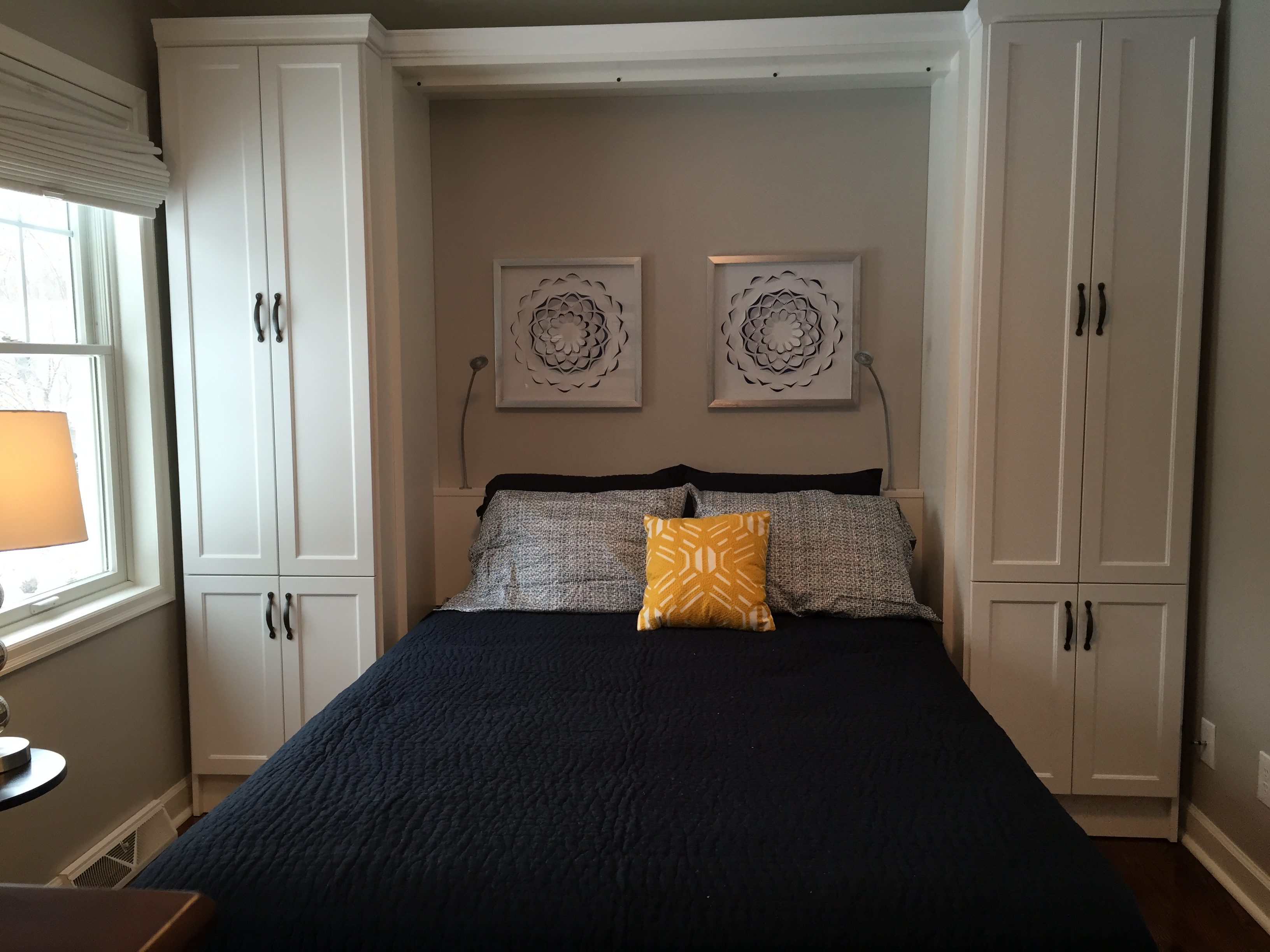 Twin Murphy Bed Wall Bed Gallery | Desq - We Create Space | Minnesota