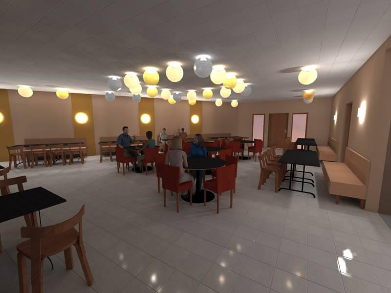 Avant Projet - Bar / Restaurant : Aménagement interieur - Albi (81)