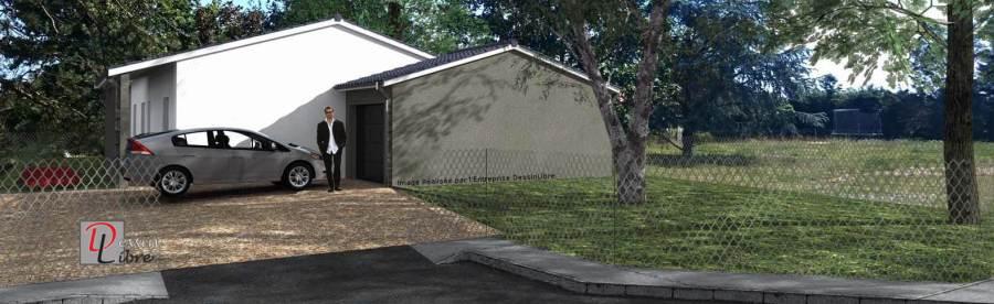Maison de Plain Pied de 95m² avec Garage Attenant- Carbonne (31)