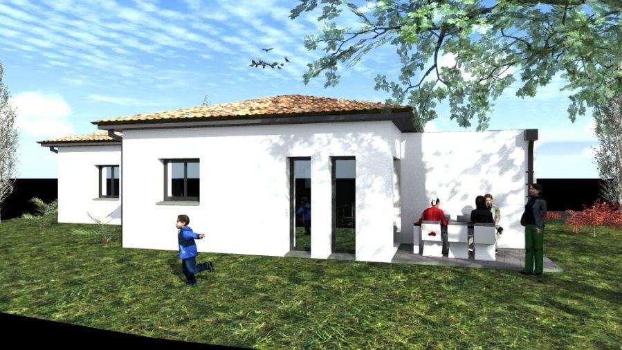 Maison Moderne T5 de Forme Type S de 115 m² - Beauzelle (31)