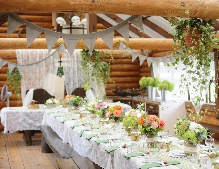 Mariage Champetre Decoration Table Deco Table Mariage Champetre - Le Mariage