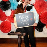 Vintage Wedding Rentals Denver-photo booth prop