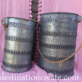 Wedding Decor Rentals-rent galvanized lanterns for a rustic chic wedding or party