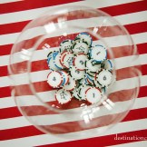 Customized poker chip table number assignment