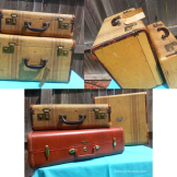 Vintage Wedding Rentals Denver-luggage