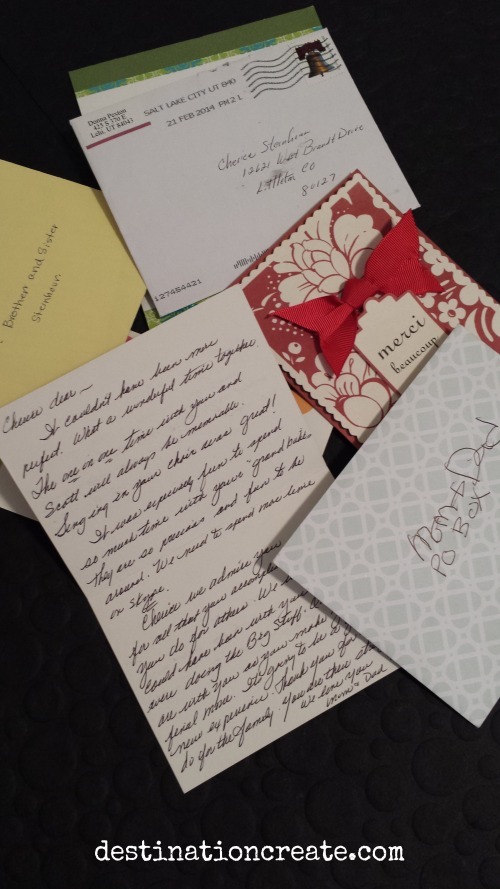 The world needs more love letters... a remarkable woman changes the world one letter at a time