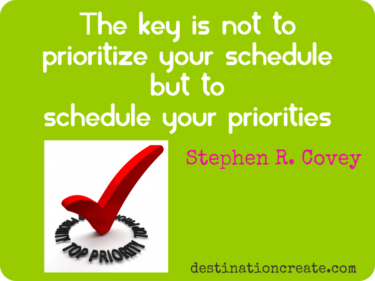 Discover how to build a PRODUCTIVE DAY! Good-Better-Best. Sometimes Good is just Good enough. It's about Priorities. It's not always easy to manage your time and get everything on your To Do List done. You really can't save time or even manage it. You can only manage yourself. You know you need this!