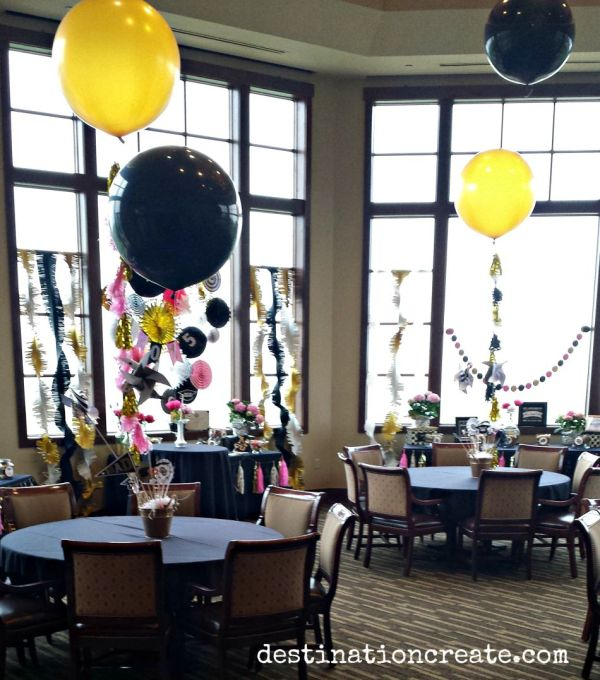 Guests At This College Graduation Party Ate Drank And Played With Giant Balloons