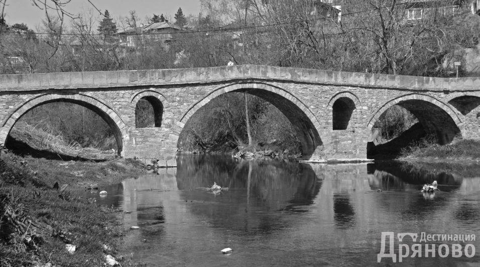Мост на Колю Фичето черно-бяла