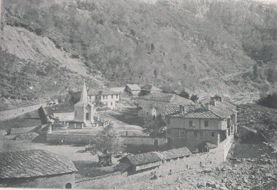 Дряновският манастир в началото на XX век