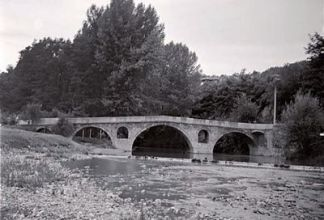 стара снимка на моста