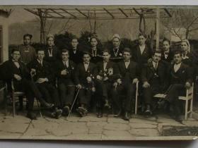 с. Кумани, млади хора (1926г)