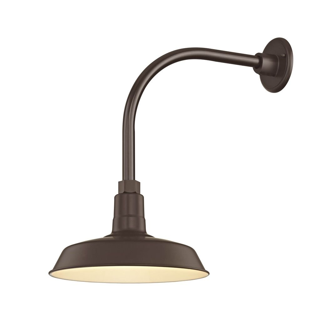 Gooseneck Lighting Bronze Gooseneck Barn Light With 12