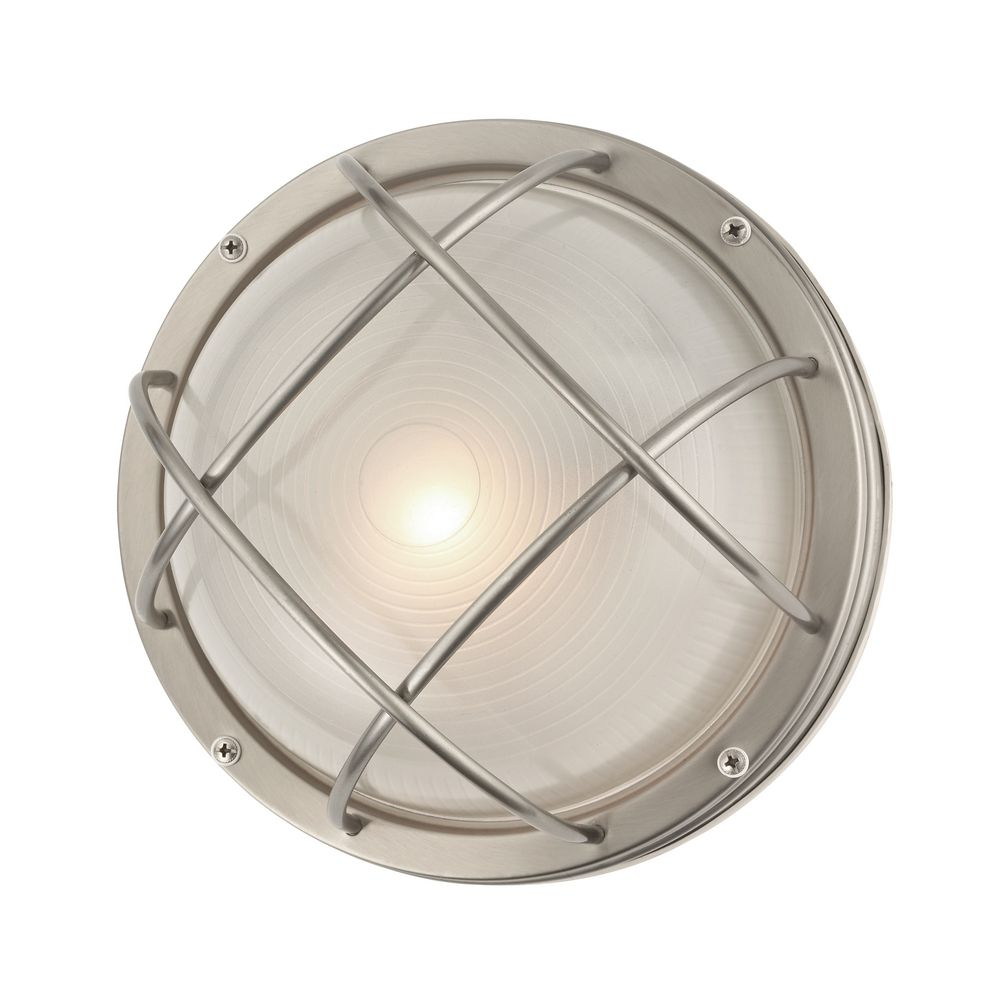 Lights Ceiling Marine Bulkhead Round Outdoor Wall Ceiling Light 10 Inches Wide At Destination Lighting