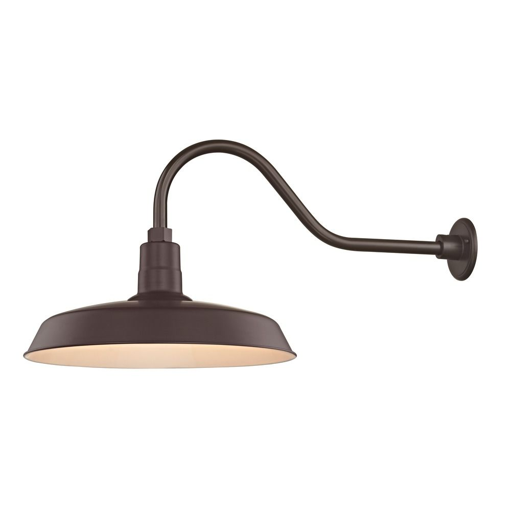 Gooseneck Lighting Bronze Gooseneck Barn Light With 18