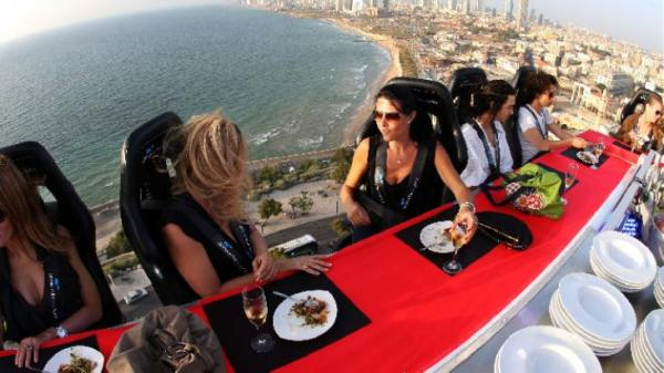 A LUXURY TRIP TO QATAR WITH DINNER IN THE SKY.