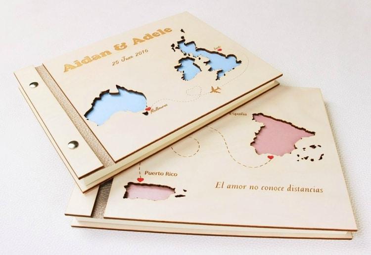 22 Destination Wedding Guest book Alternative Ideas - Destination