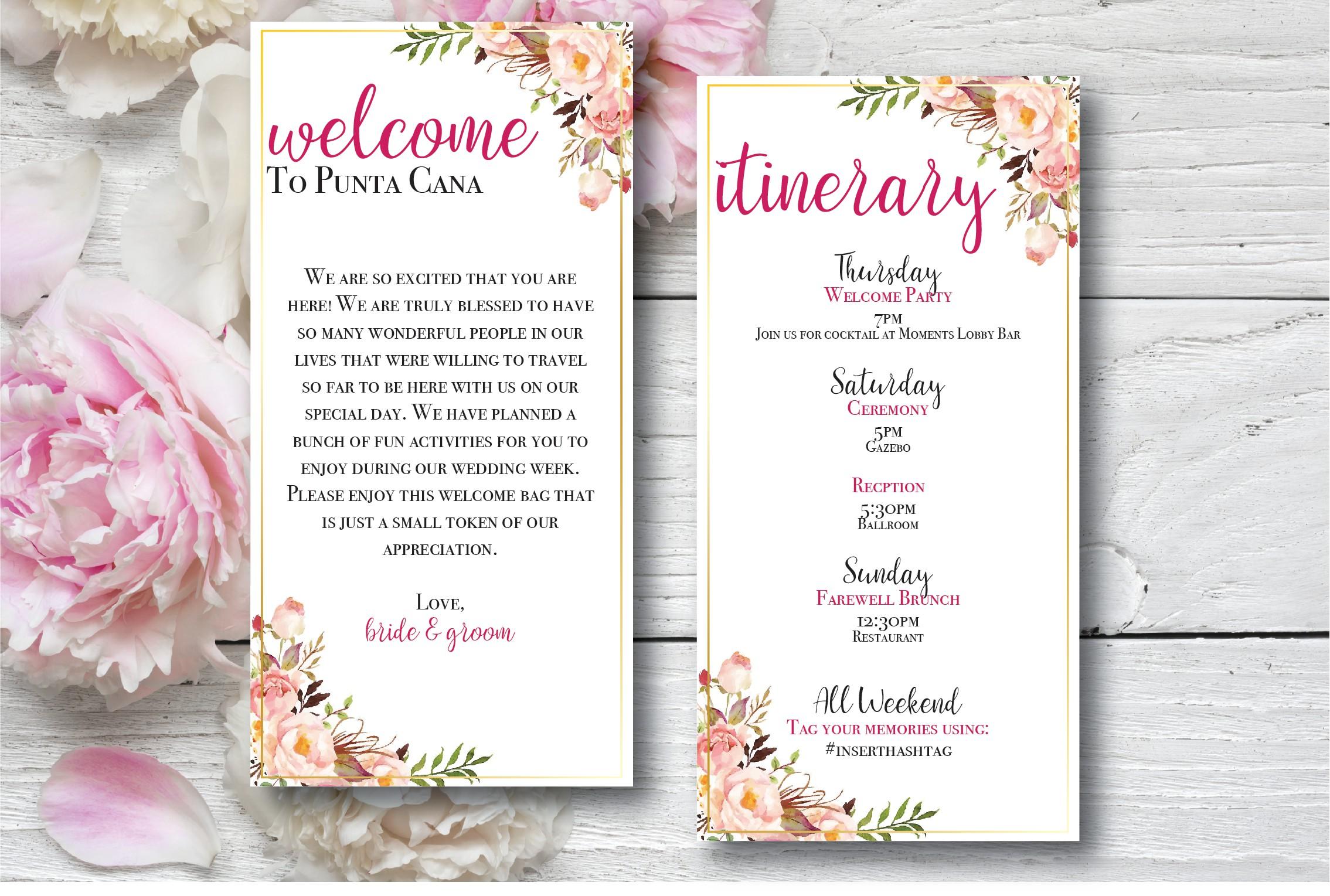 Creative Destination Wedding Ideas Destination Wedding Details - sample wedding brochure